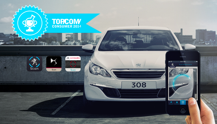 SCAN MY PEUGEOT / MY CITROEN - Business lab